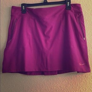 Nike Dri-fit skirt with shorts